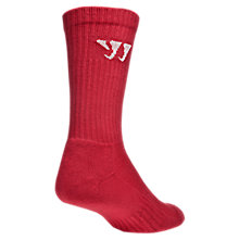 Crew Socks (Single), Red