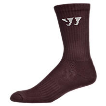 Crew Socks (Single), Team Maroon