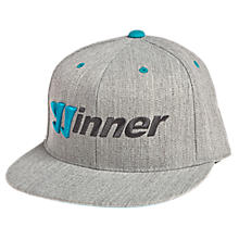 Winner Hat, Athletic Grey