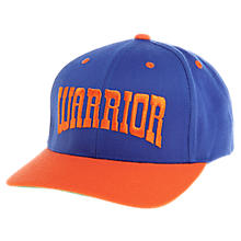 Frontier Curved Brim, Blue with Orange