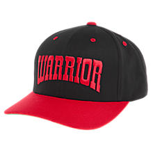 Frontier Curved Brim, Red with Black