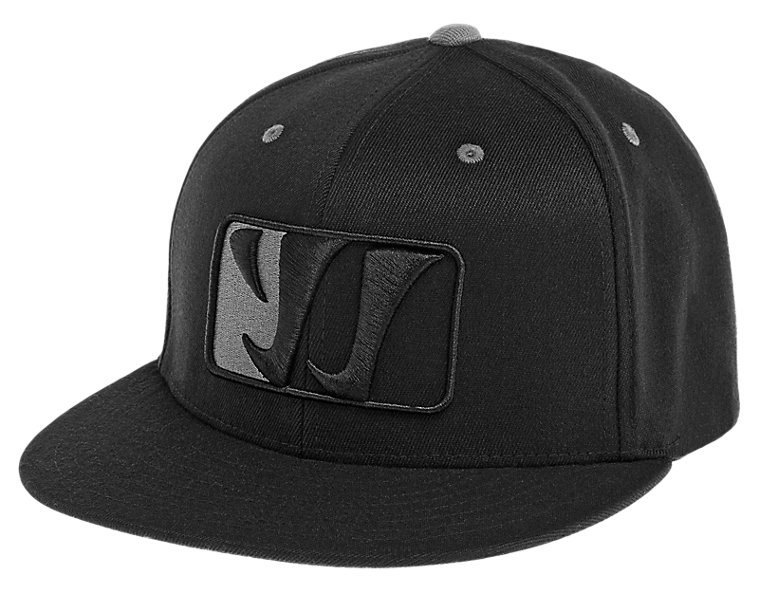 Playerz Flat Brim, Black