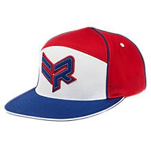 Rabil Hat, Red with White & Blue