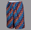 Youth Charlie Brown Short, Blue with Orange