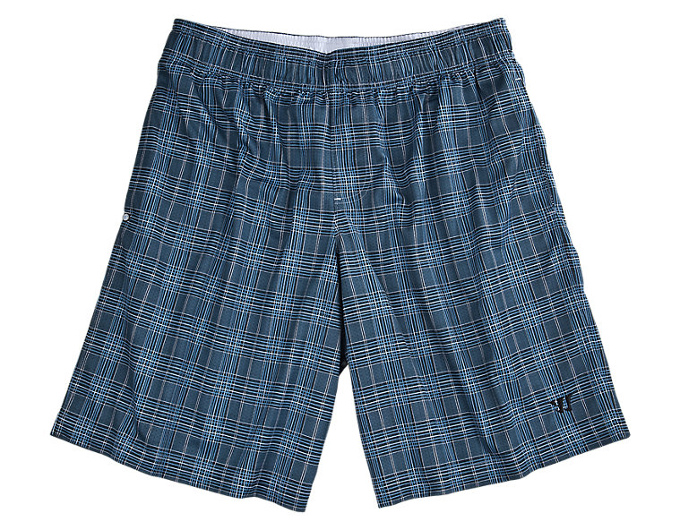 Caddy Shack Short, Black with Blue