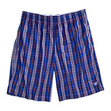 Caddishack Short, Navy with Red