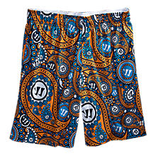 Woodstock Short, Navy with Orange