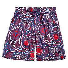 Woodstock Short, Red with Navy & White