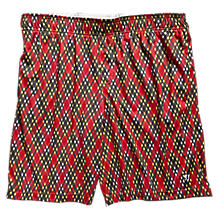 BBQ Short, Red with White