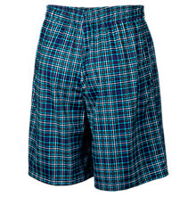Houndsplaid Short, Blue with Black