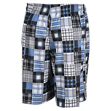 Caddy Madras Short, Bluejay