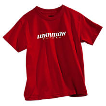 Youth Hockey Logo Tee, Formula One Red with White