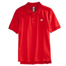 Youth Heritage Polo, Classic Red