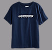 Youth Lacrosse Logo Tee, Navy