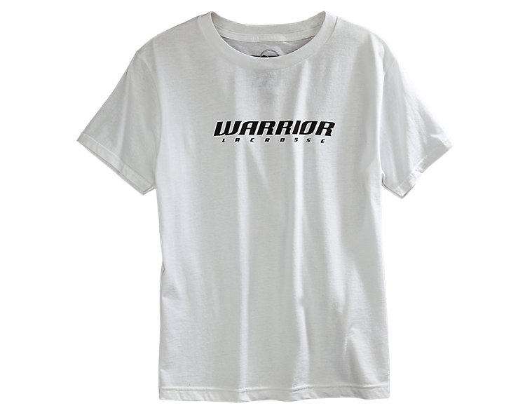 Youth Lacrosse Logo Tee, White