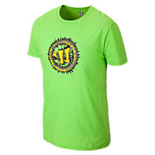 Youth Static W Tee, Jazz Green