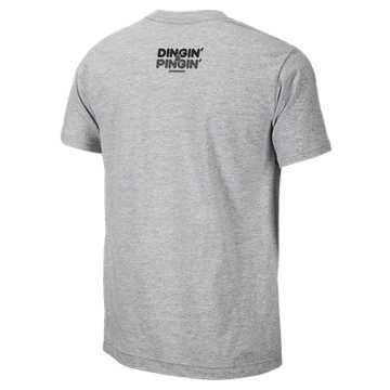 Youth Pipe City Tee, Athletic Grey