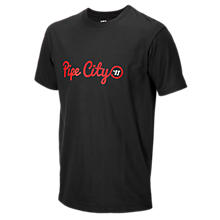 Youth Pipe City Tee, Black