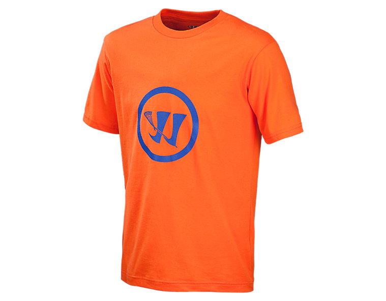 Youth Crease Tee, Team Orange