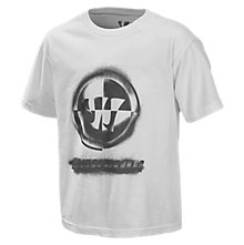 Youth Stencil Tee, White