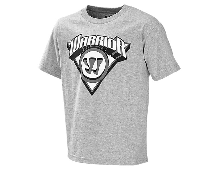 Youth Breakout Tee, Dark Heather Grey
