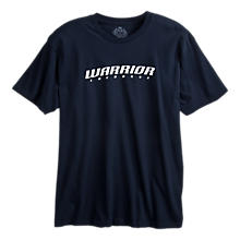 Lax Logo Tee, Navy with White
