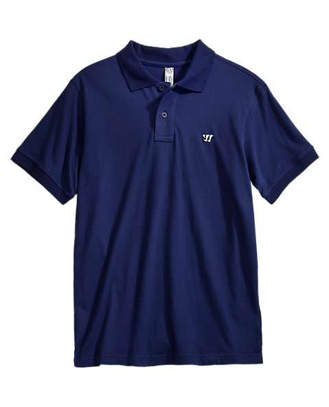 Heritage Polo, Aviator Blue with White