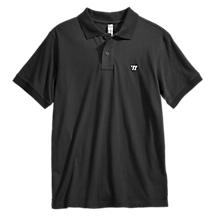 Heritage Polo, Black with White