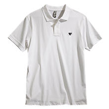 Heritage Polo, White with Black