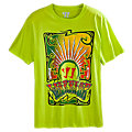 Fillmore Tee, Neon Yellow