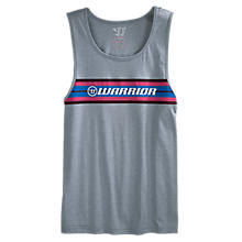 Stripe Tank, Athletic Grey