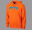 Athletics Pullover Hoodie, Orange