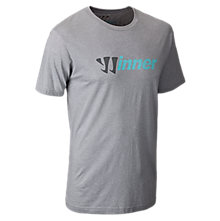 Winner 50/50 Tee, Grey