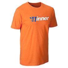 Winner 50/50 Tee, Orange