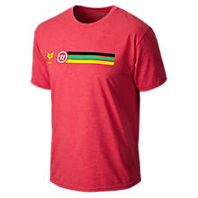 Rabil Stripe Tee, Red