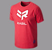Rabil Logo Tee, Red