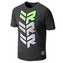Rabil Stacked Tee, Black