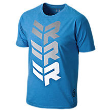 Rabil Stacked Tee, Royal Blue