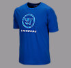 Circle Dub Lax Tee, Royal Blue