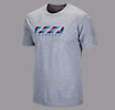 Rug Stripe Lax Tee, Grey