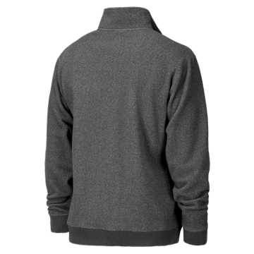 Rhinelander 1/4 Zip Fleece, Dark Heather Grey
