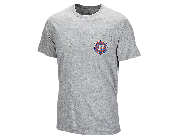 On A Boat Pocket Tee, Athletic Grey