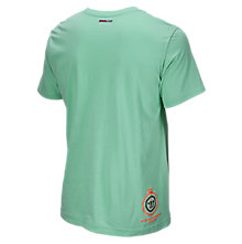 Showtime 50/50 Tee, Green