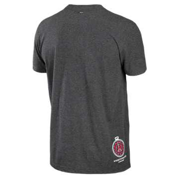 Showtime 50/50 Tee, Black Heather