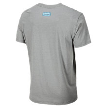 Big Show 50/50 Tee, Athletic Grey