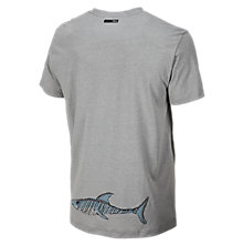 Shark 50/50 Tee, Athletic Grey