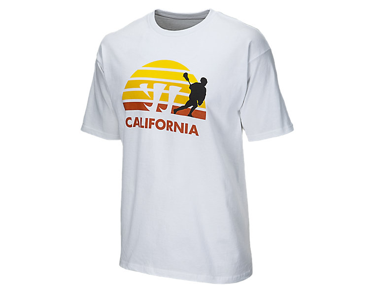 California Tee, White