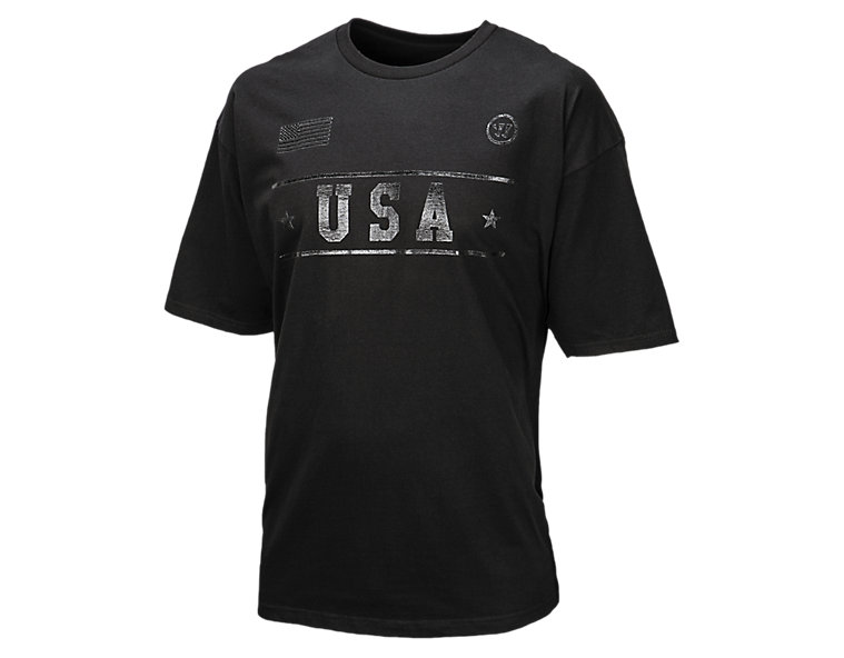Team USA Tee, Black