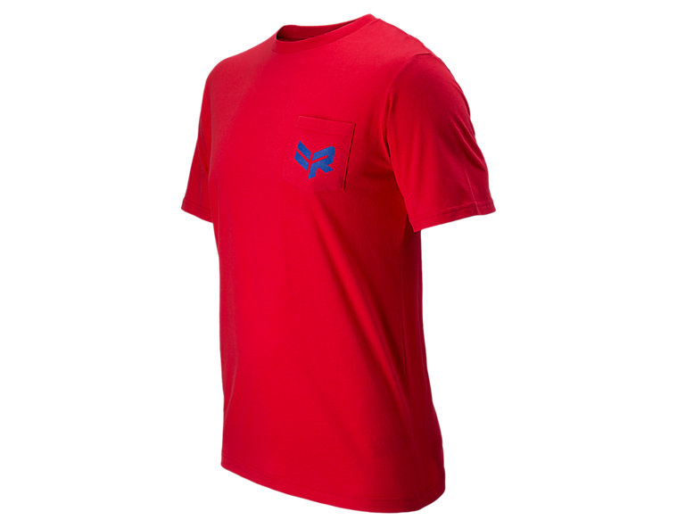 Rabil Pocket Tee, Formula One Red