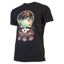 Grateful Dead SpaceFace 50/50 Tee, Black